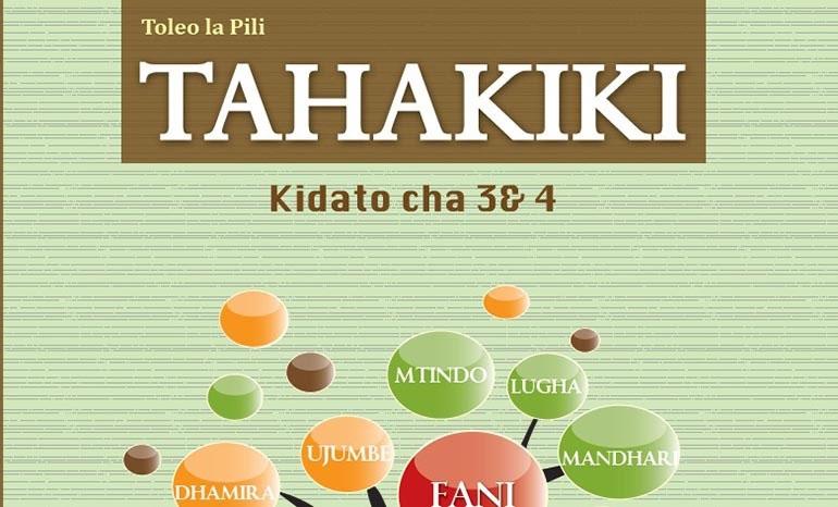 TAHAKIKI KIDATO CHA 3 & 4