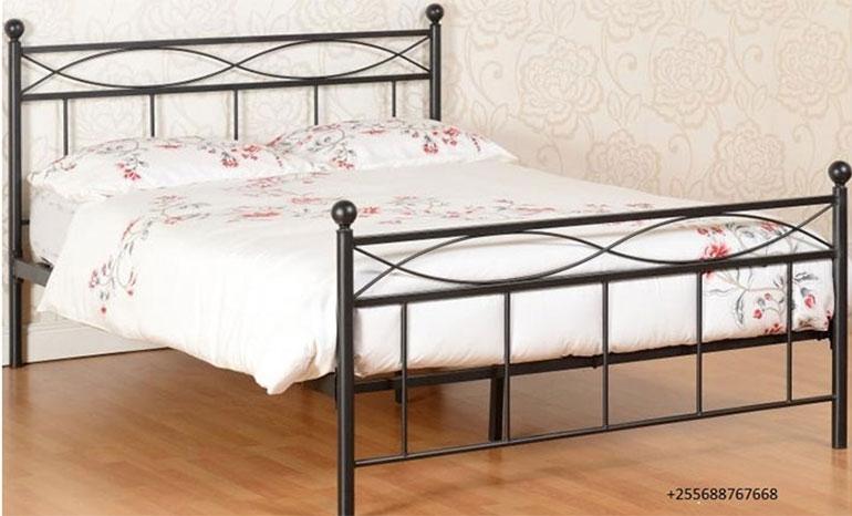 Elegant metal bed