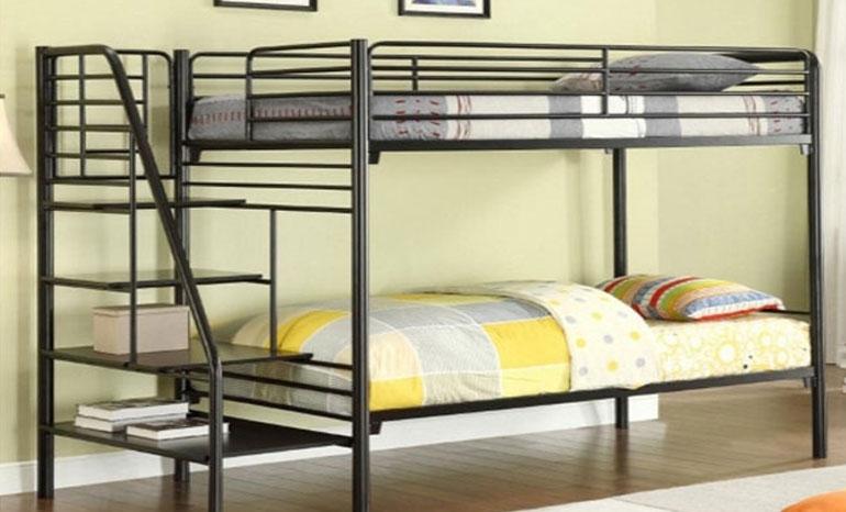 4X6 Modern double decker bed