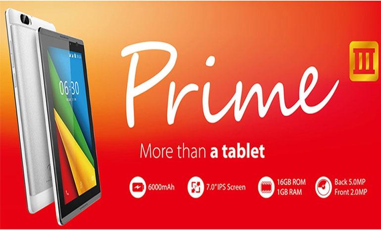 Itel Prime 3 Tablet
