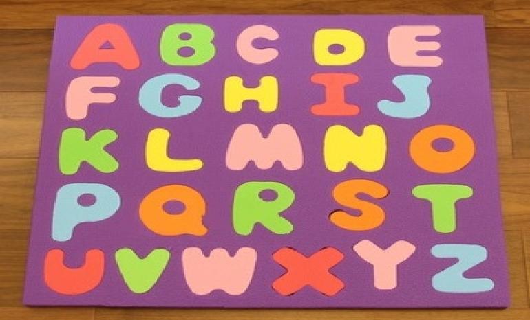EVA foam puzzle ABC early education toys