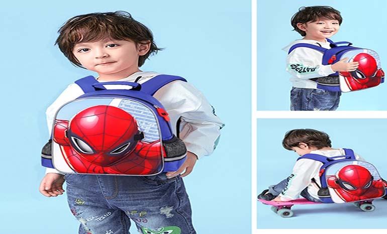 Disney Kindergarten Spider-Man Schoolbag  for boys 3-6 Years