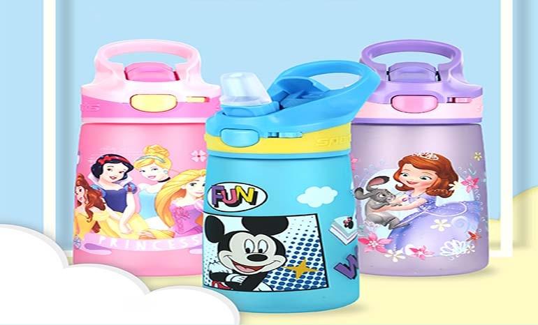 Disney children's Cup Sipper for kindergarten