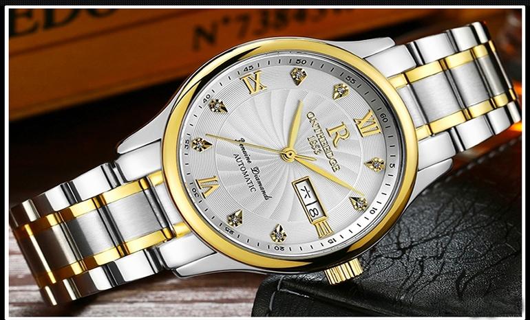 Genuine ultra-thin waterproof watch