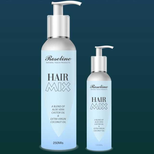 Roseline Extra Virgin Coconut Oil for Hair 250mil