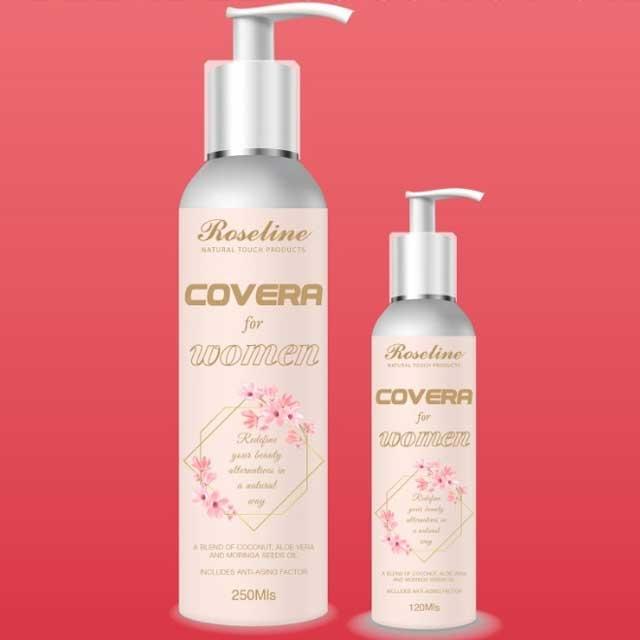 250mils Covera - Roseline Extra Virgin Coconut Oil for Women