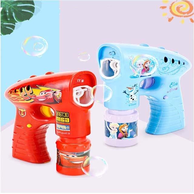 Disney baby electric bubble gun toy