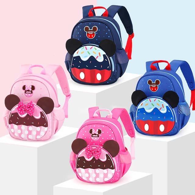 Disney kindergarten schoolbag for boys and girls 3-6 years
