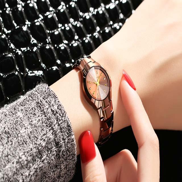 Genuine ultra-thin waterproof watch for ladies