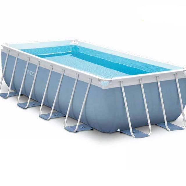 Intex family swimming pool