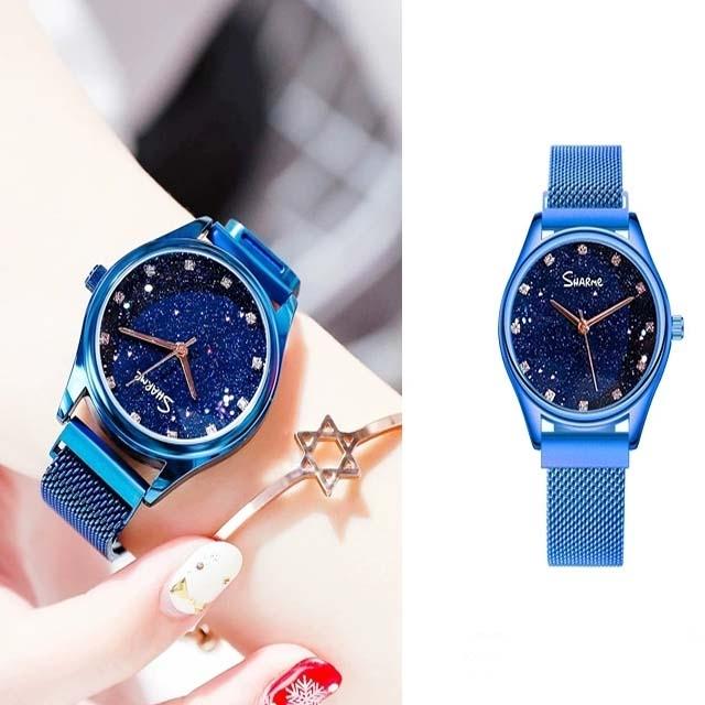 Waterproof magnetic female watch