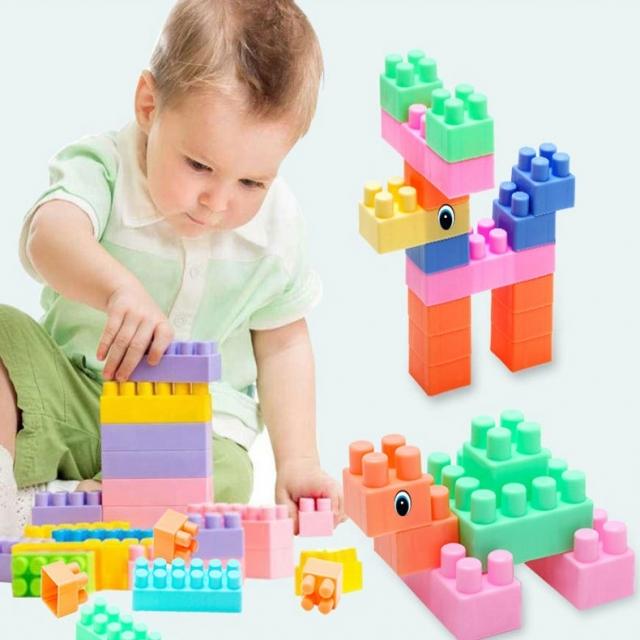 Children's building blocks plastic toys