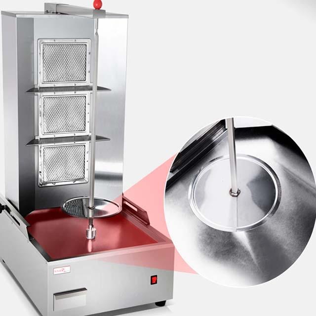 Shawarma machine 4 plates