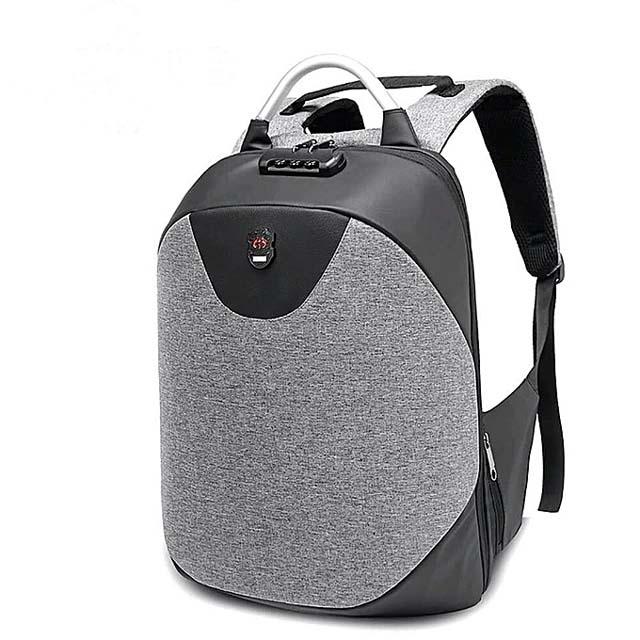 Number Lock Anti Theft Smart Bag