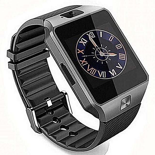 DZ09 Bluetooth Smart Watch - Black