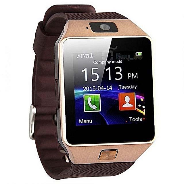 DZ09 Smart Watch - Gold