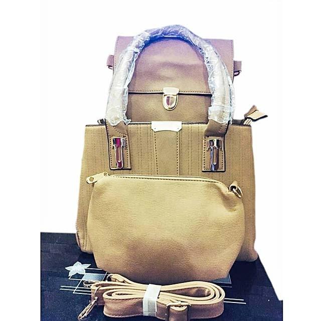 3 in 1 Ladies Handbag fashionable