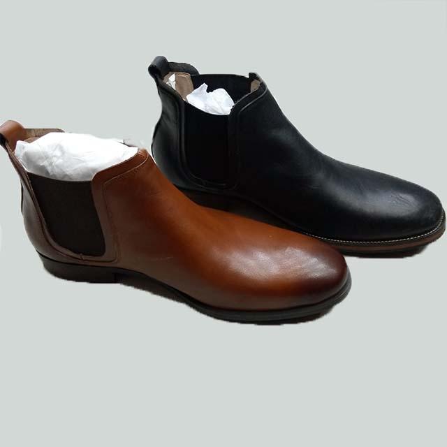 Sandaland lather short boot