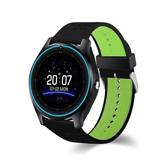 V9 Quad Band Smartwatch Phone