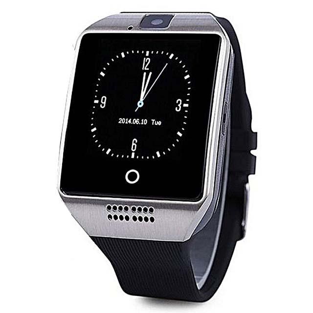 Q18 Smart Watch - Silver/Black