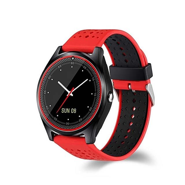 V9 Smartwatch 32MB RAM 128B HDD - Red
