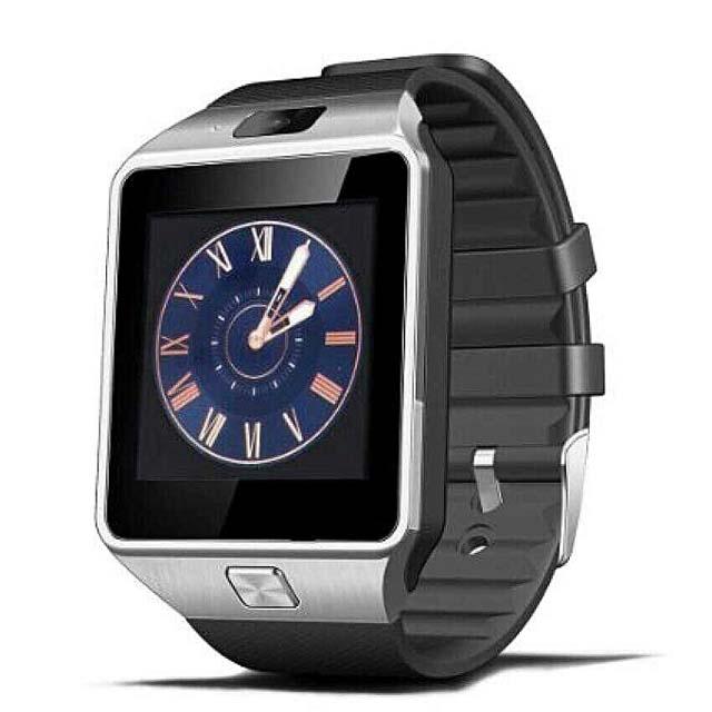 Mny005 Smart Watch - Black/Silver