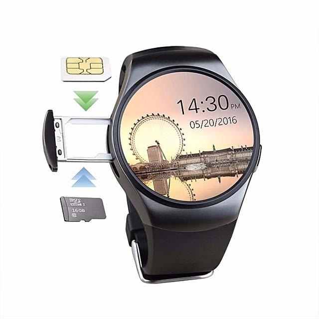 Kw18 King Wear Smart Watch - Black