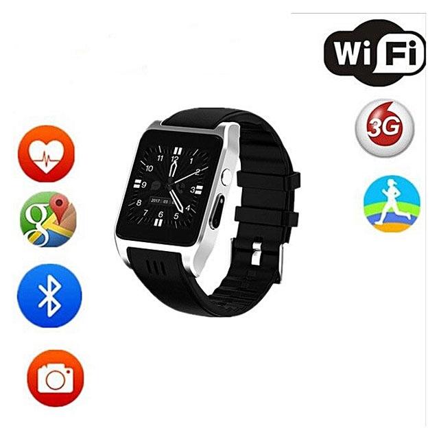X86 Bluetooth Wifi Smart Watch ROM 16G support 3G/4G SIM card