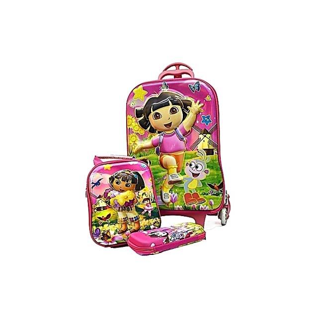 Dora trolley School Bag