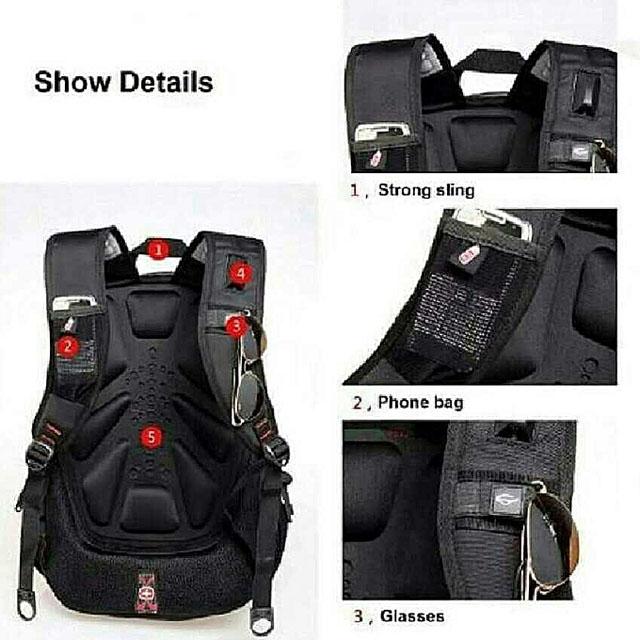Swissgear Travel Gear Back Pack - Black