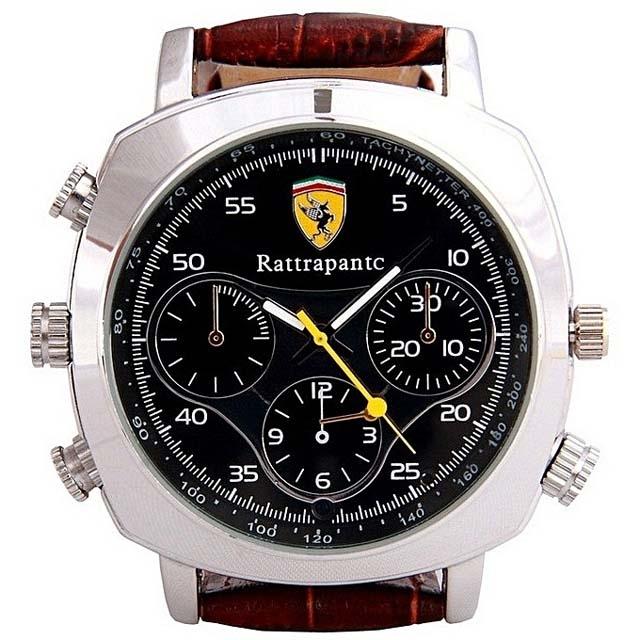 Spy Video Camera Rattrapantc 8GB Watch