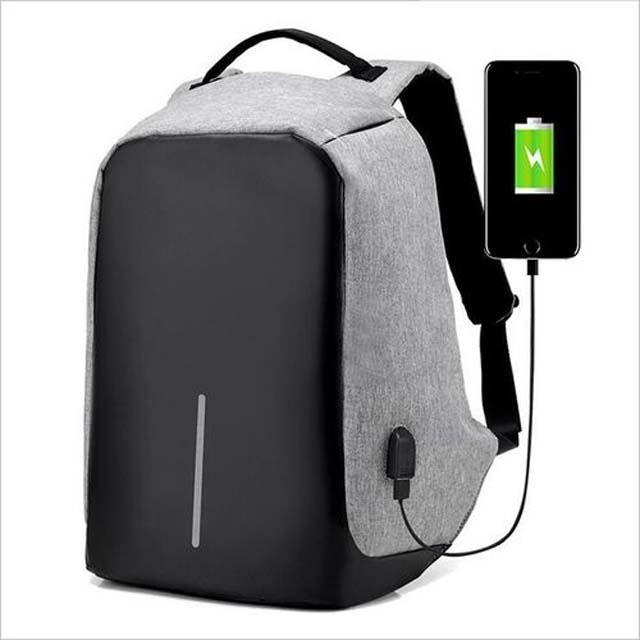 Anti theft Smart Bag Pack USB