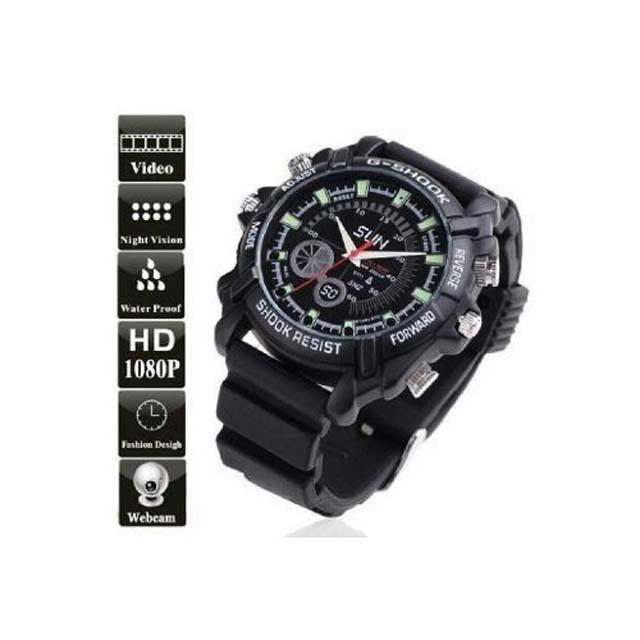 G-Spy Watch - Black