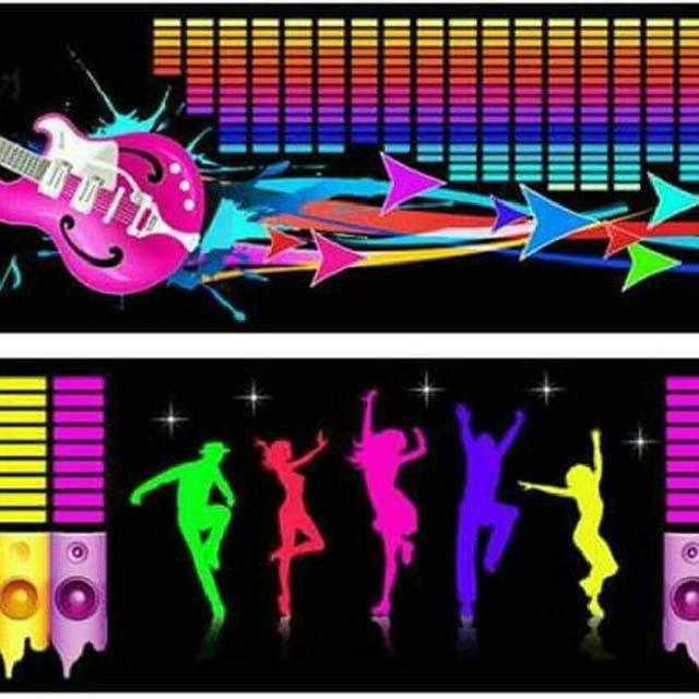Led Music Sticker