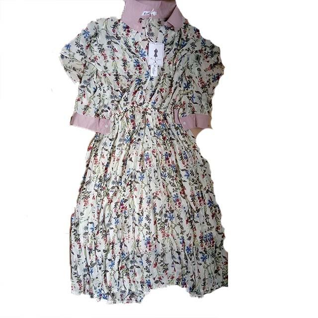Elegant Mulang print dress
