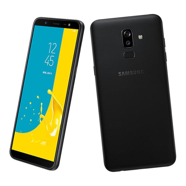 Samsung Galaxy J8 Dual SIM - 64GB, 4GB RAM, 4G LTE, Black