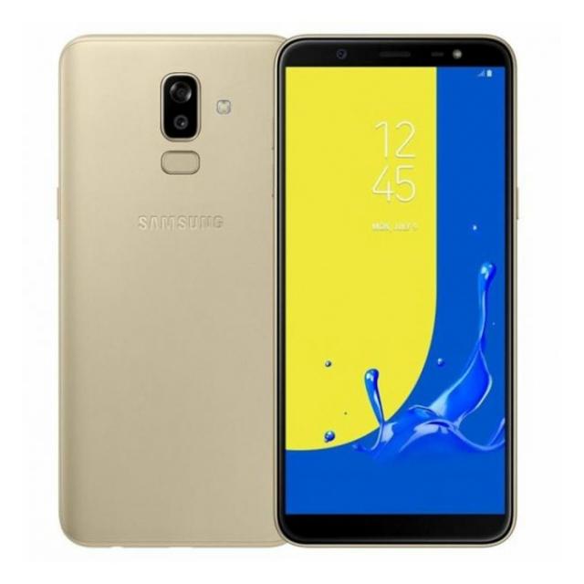 Samsung Galaxy J8 Dual - 32GB, 3GB, 4G, GOLD