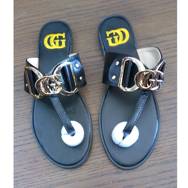 GUCCI Black Flat Shoe