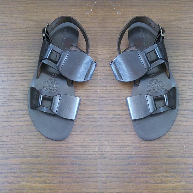 Black Flat Sandals For Men