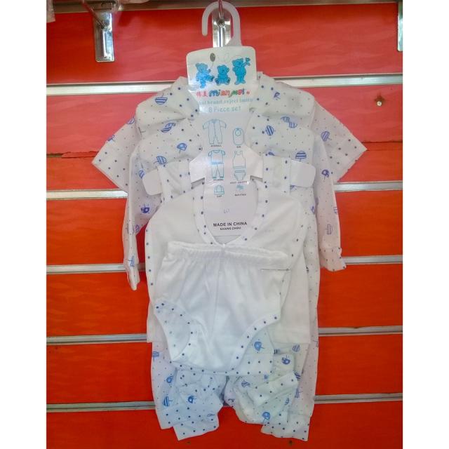 Khajumo 8 Piece Baby Clothes Set