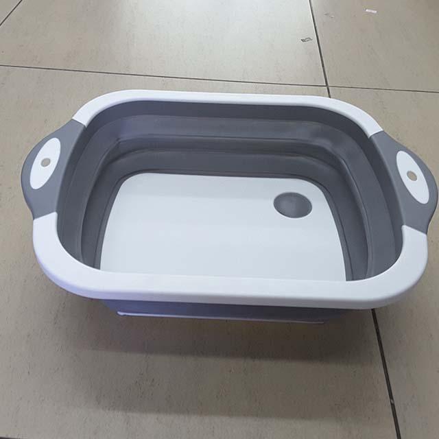 Plastic Basin with Handles