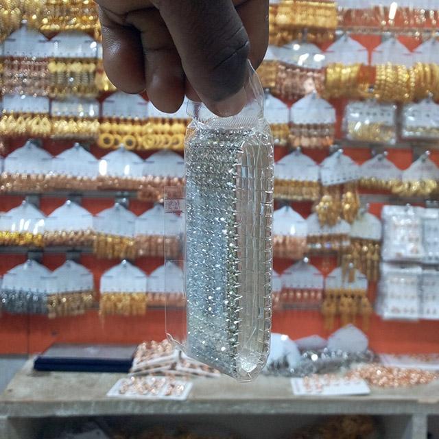 Thicker wrist silver chain - 12 piece (Dozen)