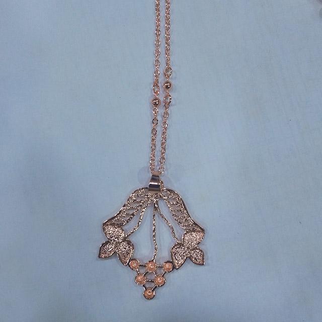 Attractive bronze chain