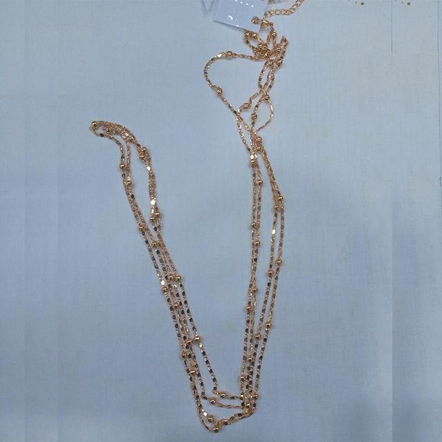 Ladies Gold Plate waist chain - 12 pieces (Dozen)