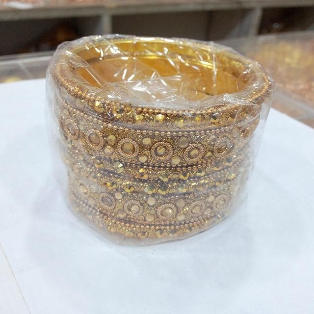 Gold Plate Bracelet Bangle