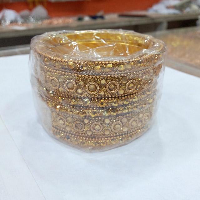 Gold Plate Bracelet Bangle - 12 piece (Dozen)
