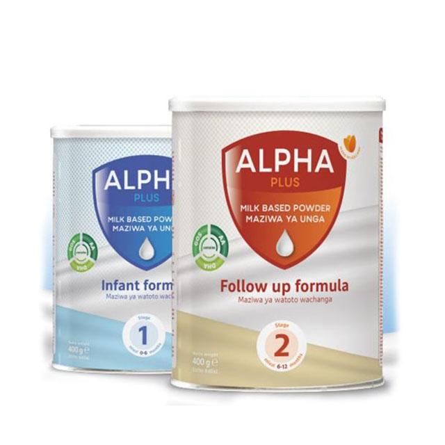 Alpha babies milk