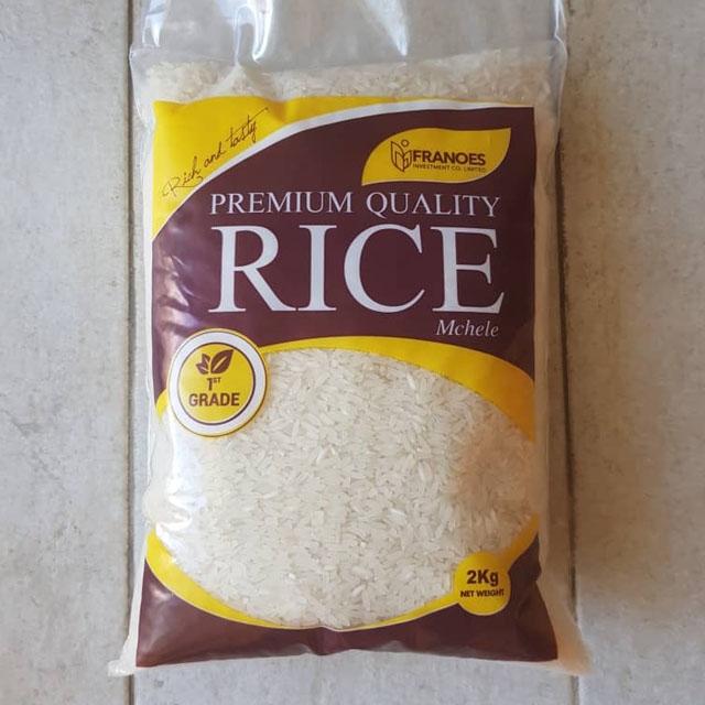 Premium Quality Rice (Mchele) - 2kg