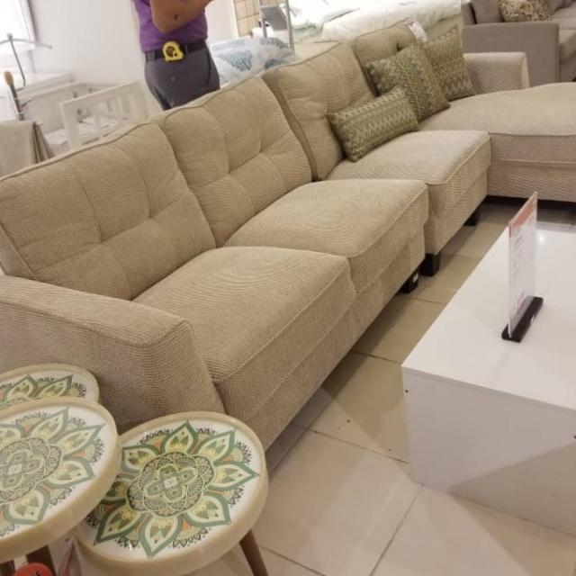 Fabric Sofa L shaped
