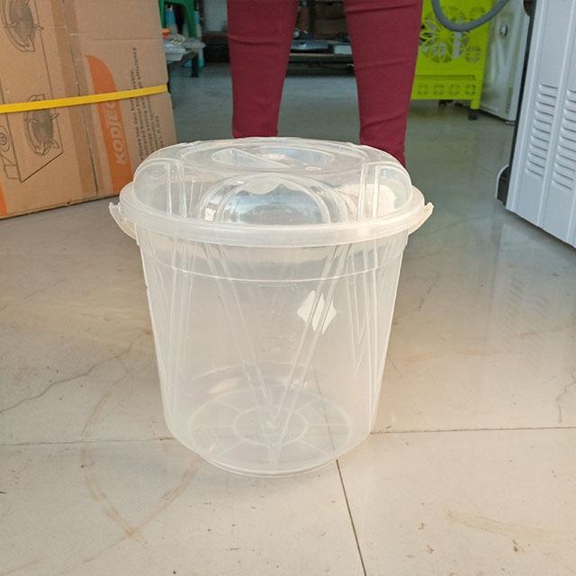 DeMo - Plastic transparent basket